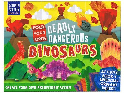 FOLD YOUR OWN DEADLY DINOSAURS