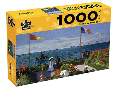 OLD MASTERS MONET 1000pc