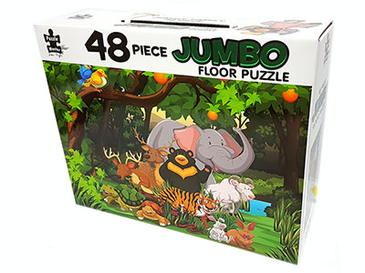 JUNGLE FAMILY JUMBO FLOOR PUZ