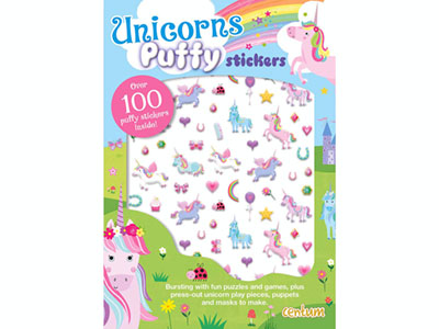 UNICORNS PUFFY STICKERS