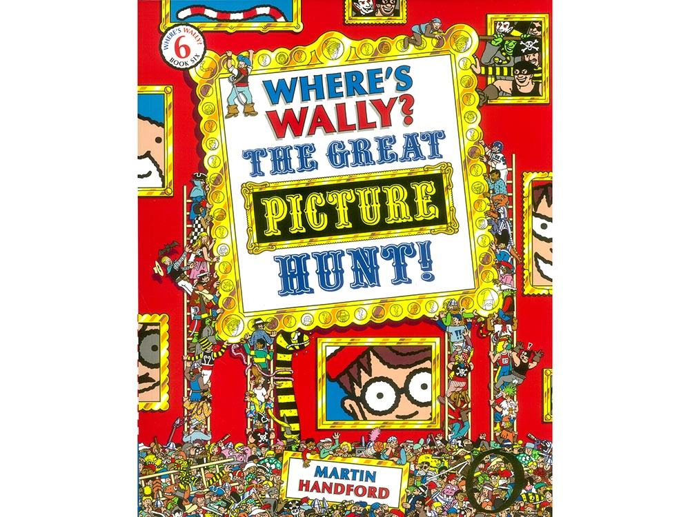 WHERE'S WALLY PICTURE HUNT