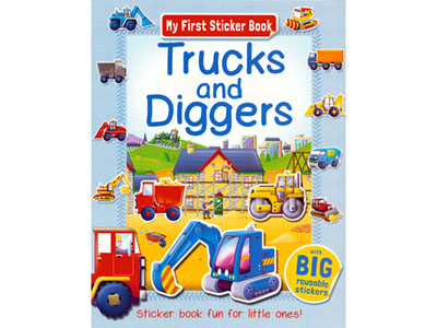 TRUCKS DIGGERS MY FIRST STICKE