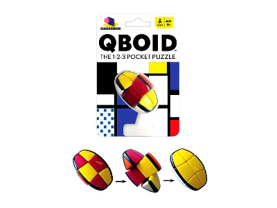 QBOID The 1-2-3 Pocket Puzzle
