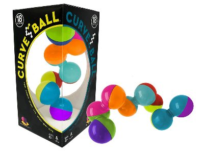 CURVE BALL (18 Puzzles)