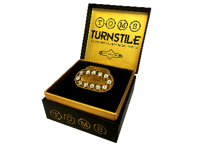 TOM'S TURNSTILE brass puzzle