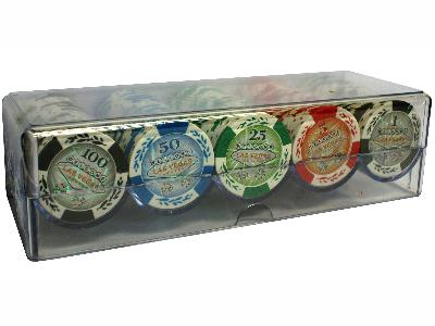 POKER CHIPS 11.5gm TRAY 100pc