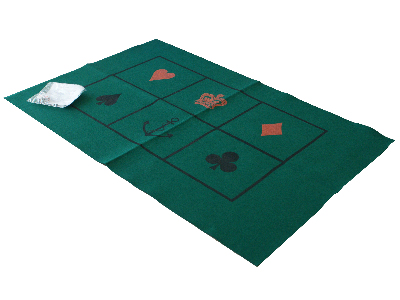 CROWN & ANCHOR GAME & FELT MAT