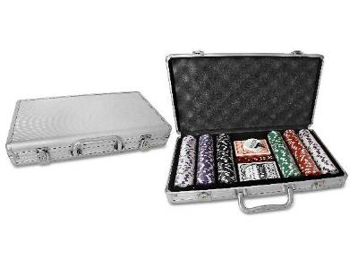 POKER 300pc 11.5gm ALUMIN.CASE