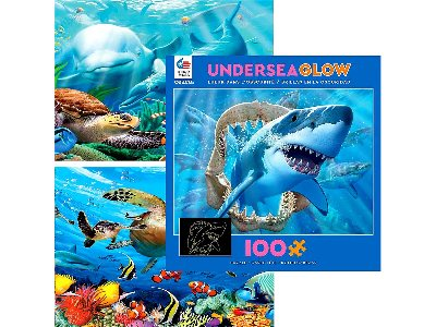 UNDERSEA GLOW 100pc asstd.