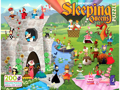 SLEEPING QUEENS 200pc