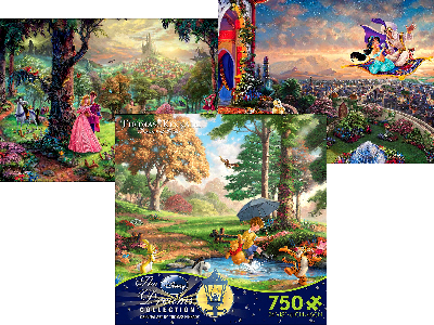 DISNEY DREAMS 750pc ASSTD. S3