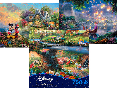 DISNEY DREAMS 750pc asstd. S6