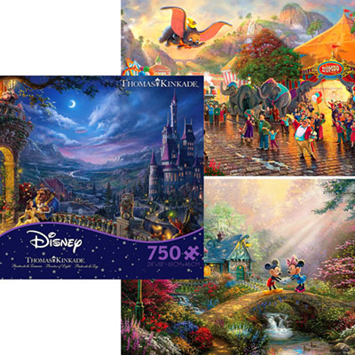 DISNEY DREAMS 750pc asstd. S8