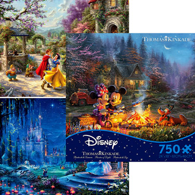 DISNEY DREAMS 750pc ASSTD. S9