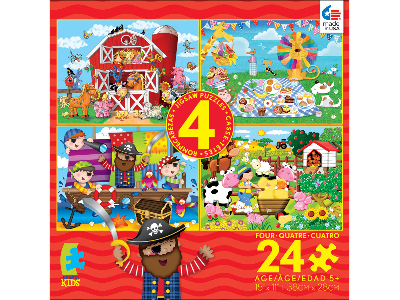 CEACO KIDS 24pc 4-IN-1