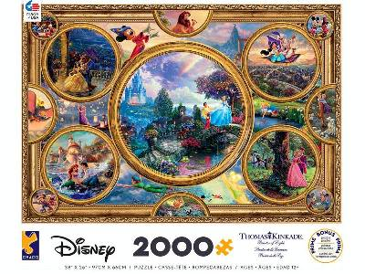 KINKADE DISNEY COLLAGE 2000pc