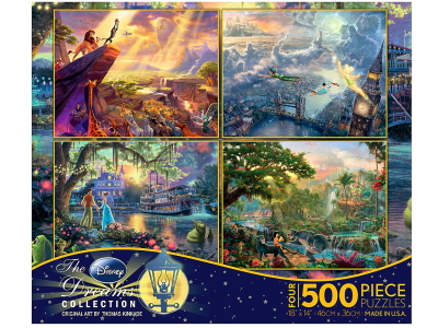 KINKADE DISNEY 500pc 4-in-1 S1