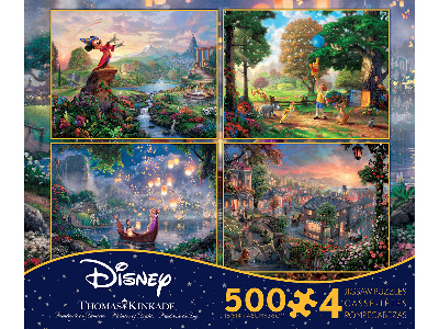 KINKADE DISNEY 500pc 4-in-1 S2