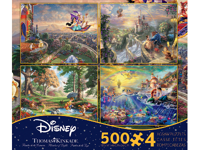 KINKADE DISNEY 500pc 4-in-1 S3
