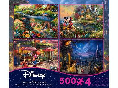 KINKADE DISNEY 500pc 4-in-1 S5