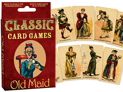 BYGONE GAMES OLD MAID