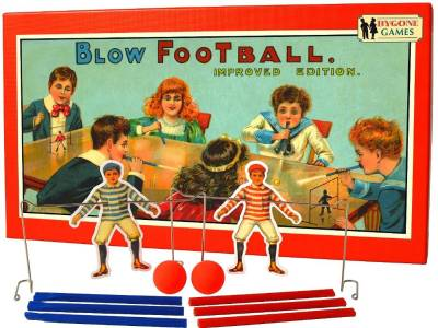 BYGONE GAMES BLOW FOOTBALL