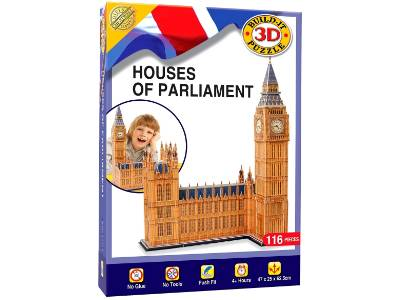 3D PUZZLE HOUSES OF PARLIAMENT