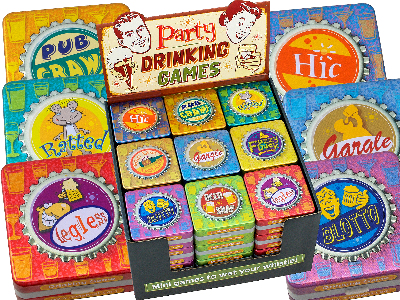 PARTY DRINKING GAMES x 36