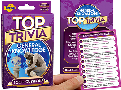 TOP TRIVIA GENERAL KNOWLEDGE