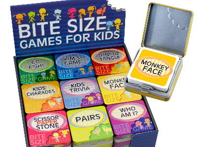 BITE-SIZE GAMES FOR KIDS x 36