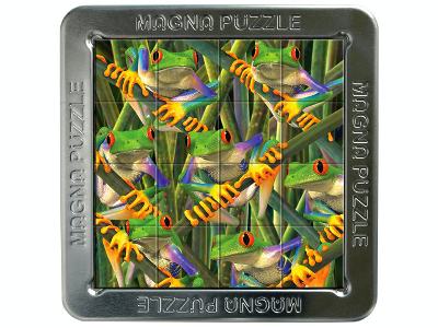 3D MAGNA PUZZLE TREE FROGS
