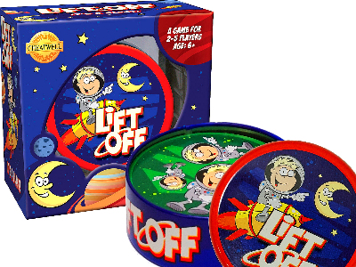 LIFT OFF CARD GAME IN TIN