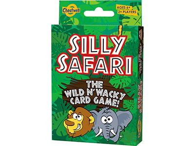 SILLY SAFARI CARD GAME IN TIN