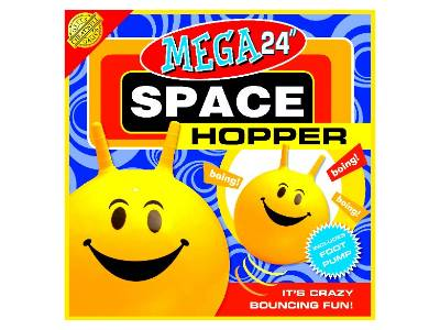 "SPACE HOPPER MEGA 24"" w/PUMP"
