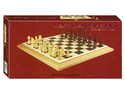 "CHESS & CHECKERS 16"" FOLDING"