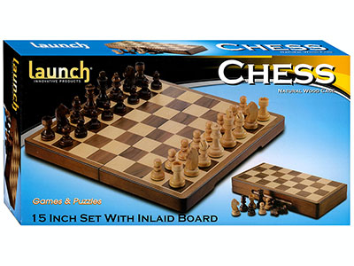 "CHESS SET 15"" INLAND (Launch)"