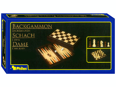 CHESS/CHECKERS 3-in-1 FOLD.11""