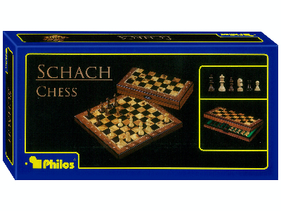 CHESS FOLDING 26cm (PHILOS)