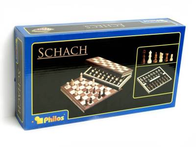 "CHESS SET 11.5"" FOLDING PHILOS"