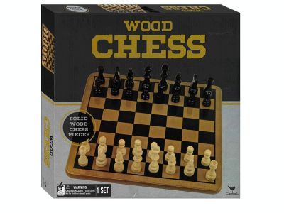 CHESS SET WOOD 29CM(Cardinal)