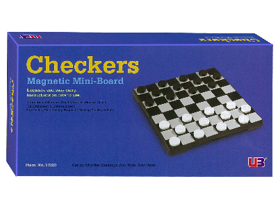 CHECKERS MAGNETIC 7""