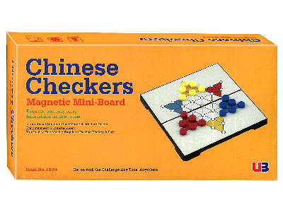 CHINESE CHECKERS MAGNETIC 7""