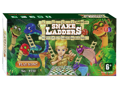 SNAKES & LADDERS MAGNETIC 7""