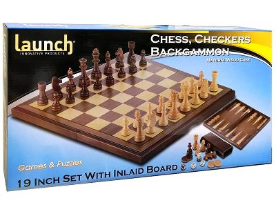 CHESS,CHECKERS,BAKGAMMON 19""