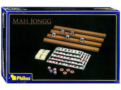MAHJONG SET WITH RAILS (PHILOS