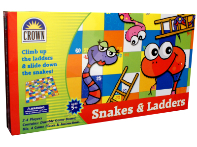 SNAKES & LADDERS, (Crown)