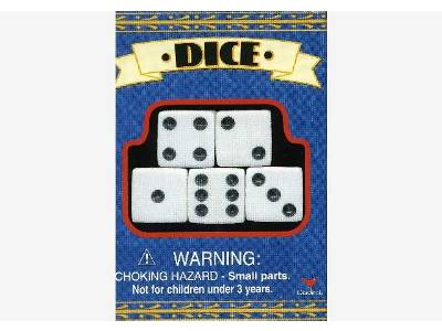 DICE - PACK OF 5 16mm (Cardnl)