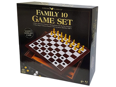 FAMILY 10 GAME SET(Cardinal)