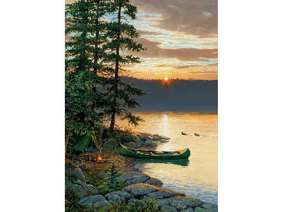 CANOE LAKE 1000pc