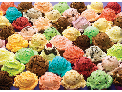 ICECREAM 1000pc